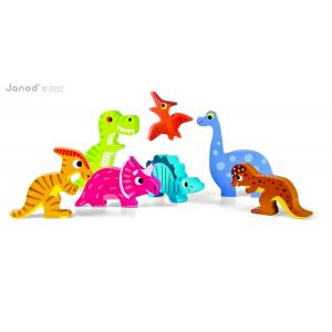 Janod - J07054 - Chunky Puzzle Dinosaures (181689)
