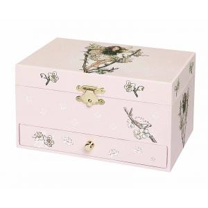 Trousselier - S60614 - Boite à Bijoux Musicale Fée Cerisier - Flower Fairies© - Figurine Fée (183409)