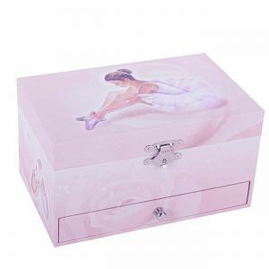 Trousselier - S60974 - Boite à Bijoux Musicale Ballerine - Rose - Figurine Ballerine (183433)