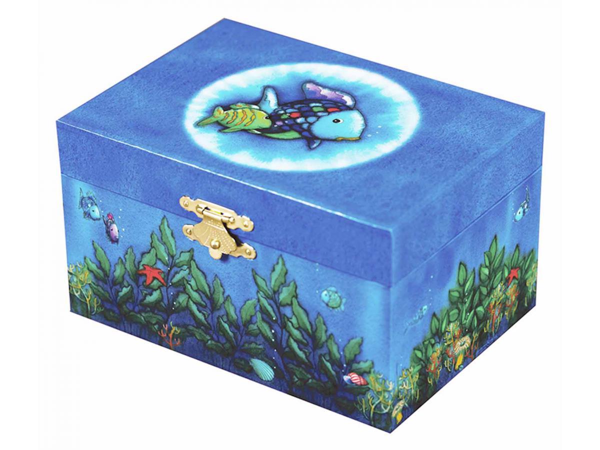 Trousselier coffret musical poisson arc en ciel bleu for Achat poisson rouge paris 18