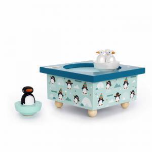 Trousselier - S95008 - Boite à Musique Dancing Pingouins (183555)