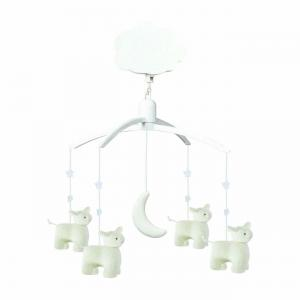 Trousselier - VM1141 - Mobile Musical Moutons Ecru (184309)