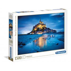 Clementoni - 31994 - Puzzle 1500 pièces - Le Mont Saint-Michel (Ax1) (184661)