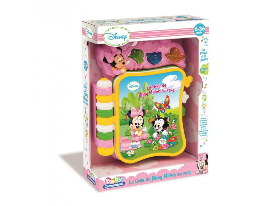 clementoni le livre musical de minnie. Black Bedroom Furniture Sets. Home Design Ideas