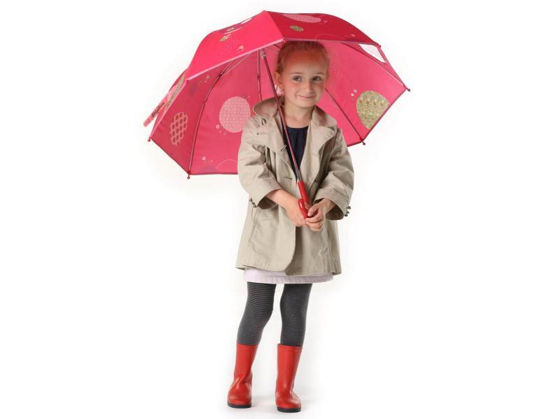 lilliputiens parapluie liz la coccinelle