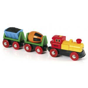 Brio - 33319 - Train de marchandises avec lumière - Thème Transport de marchandises - Age 3 ans + (189333)