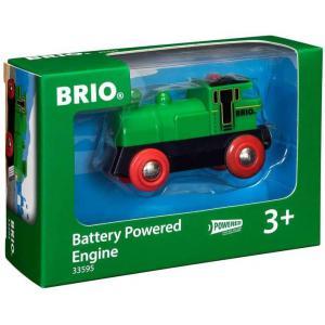 Brio - 33595 - Locomotive a pile bi directionnelle verte - Thème Transport de marchandises - Age 3 ans + (189335)