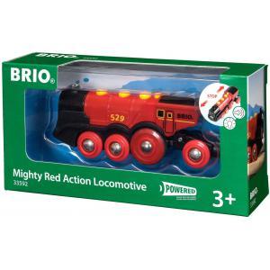 Brio - 33592 - Locomotive rouge puissante a piles - Age 3 ans + (189339)
