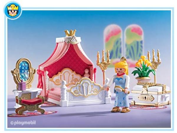 playmobil chambre de la princesse. Black Bedroom Furniture Sets. Home Design Ideas
