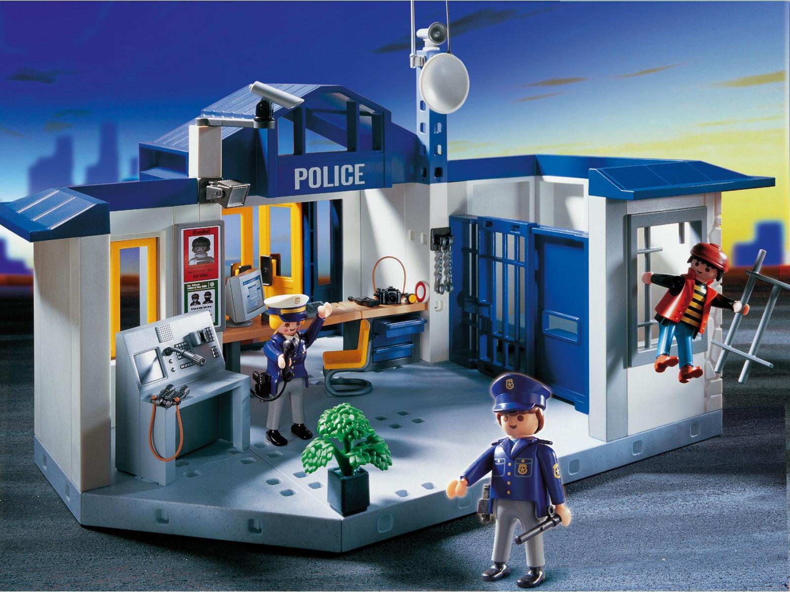 Playmobil policiers prison - Playmobile policier ...