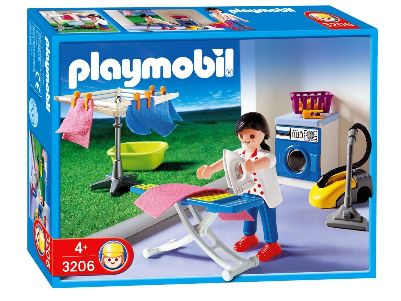 Playmobil m nag re buanderie for Playmobil buanderie