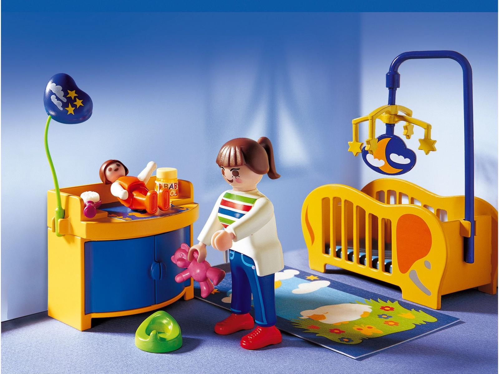 Playmobil chambre gallery of chambre enfants maison munencas playmobil with playmobil chambre - Chambre parents playmobil ...