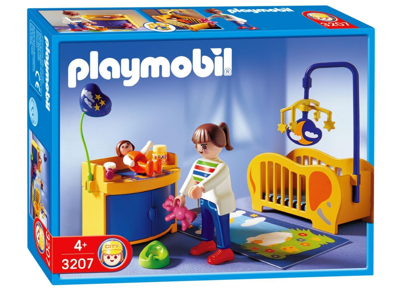 Playmobil maman et chambre de b b for Playmobil chambre enfant