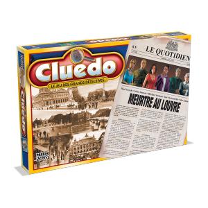 Winning moves - 0579 - CLUEDO MEURTRE AU LOUVRE (191701)