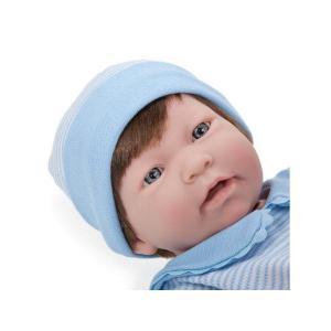 Berenguer - 18104 - Poupon Newborn nouveau né sexué garçon cheveux châtains 43 cm (193885)