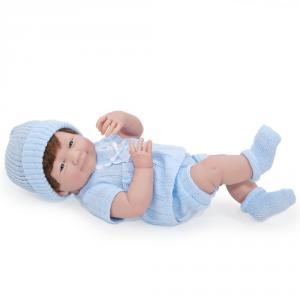 Berenguer / JC Toys - 18516 - Poupon Newborn nouveau né sourieur sexué garçon 38 cm (193889)