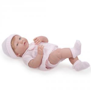Berenguer / JC Toys - 18517 - Poupon Newborn nouveau né sourieur sexué fille 38 cm (193891)
