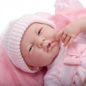 Berenguer - 18780 - Poupon Newborn nouveau né avec accessoires roses 39 cm (193893)