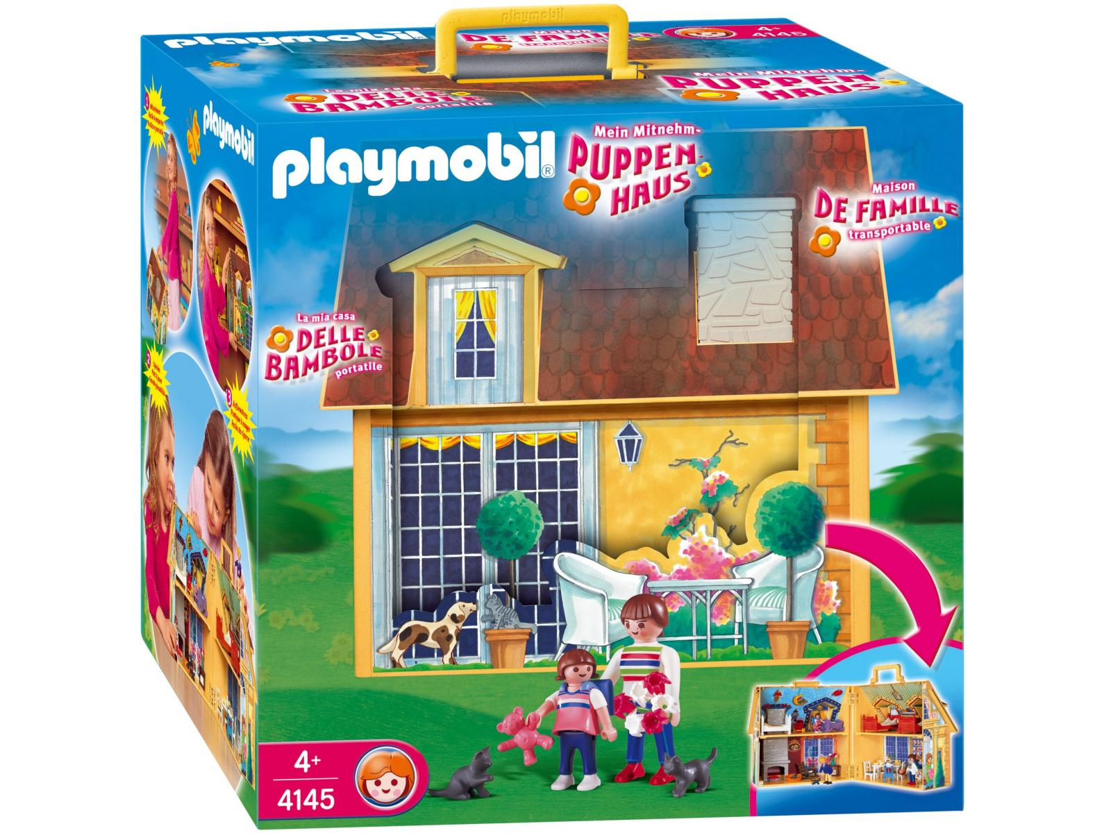 La maison moderne playmobil for Transportables haus