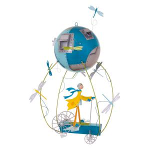 L'oiseau bateau - SCH0009 - Mobile Les Schlumpeters L'enfant et l'avion (195095)