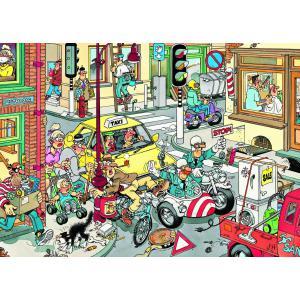 Diset - 17161 - Puzzle 150 pièces - JVH-Laisser passer ! (195237)
