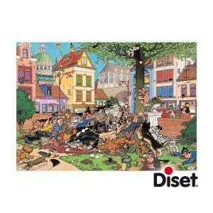 Diset - 17277 - Puzzle 500 pièces - JVH-Attrapez-moi ce chat ! (195241)