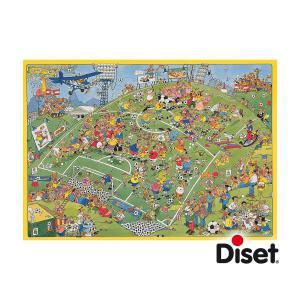 Diset - 17276 - Puzzle 500 pièces - JVH-Un match de football (195249)