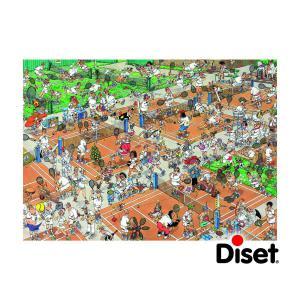 Diset - 17076 - Puzzle 1000 pièces - JVH-Le court de tennis (195279)