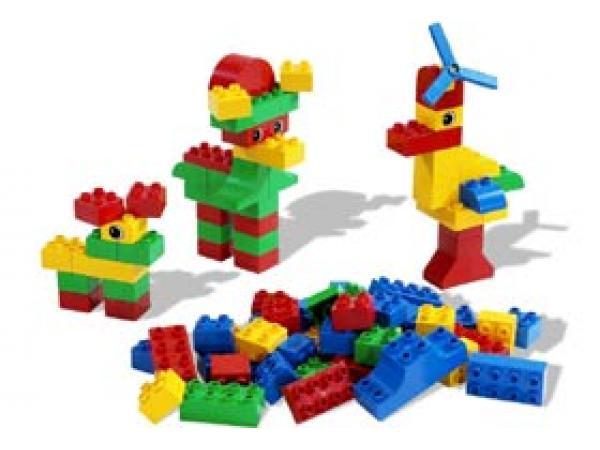 Lego Grand Seau De Briques Duplo