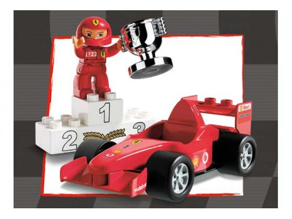 lego voiture de formule 1 ferrari. Black Bedroom Furniture Sets. Home Design Ideas