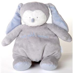 Dimpel - 883025 - Peluche poupée BABY AMOUR BLUE gris clair (199699)