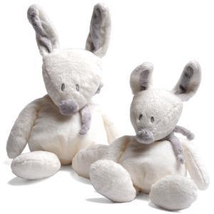Dimpel - 883220 - Peluche lapin Bibi 20 cm blanc (199707)