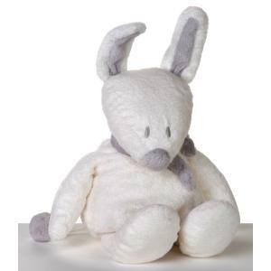 Dimpel - 883246 - Peluche lapin musical Bibi blanc (199711)