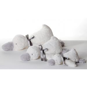 Dimpel - 882804 - Céline doudou canard 22 cm - blanc (199731)