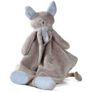 Dimpel - 822263 - Doudou chat  Cleo  beige gris & bleu (199767)