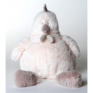 Dimpel - 882323 - Peluche poule Corine 20 cm blanche (199777)