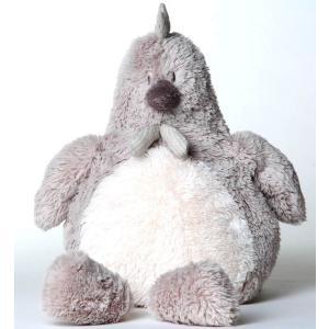Dimpel - 882401 - Peluche poule Corine 25 cm beige grise (199789)