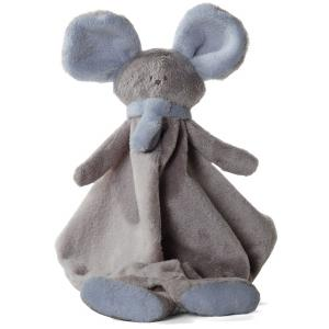 Dimpel - 822575 - Doudou souris Mona beige gris & bleu (199863)