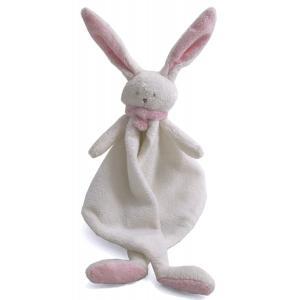 Dimpel - 822653 - Nina doudou lapin  - blanc et rose (199879)