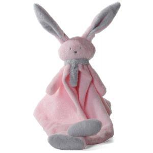 Dimpel - 822692 - Nina doudou lapin - rose et gris-clair (199885)