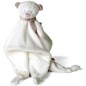 Dimpel - 882557 - Doudou ours NOANN blanc (199919)