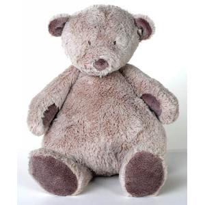 Dimpel - 882622 - Noann doudou ours 25 cm - beige-gris (199925)