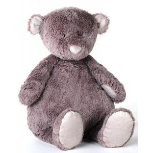 Dimpel - 882726 - Peluche ours NOANN 30 cm brun gris (199939)