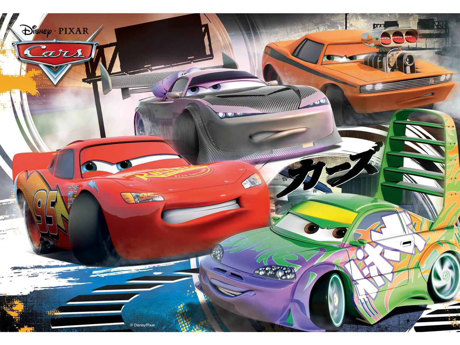 ravensburger puzzle course sauvage cars 2 x 24 pi ces. Black Bedroom Furniture Sets. Home Design Ideas