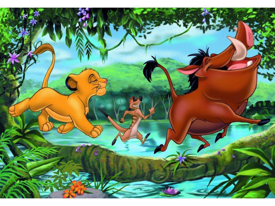 Ravensburger puzzle jeux avec timon et pumba le roi lion - Les aventures de timon et pumba ...