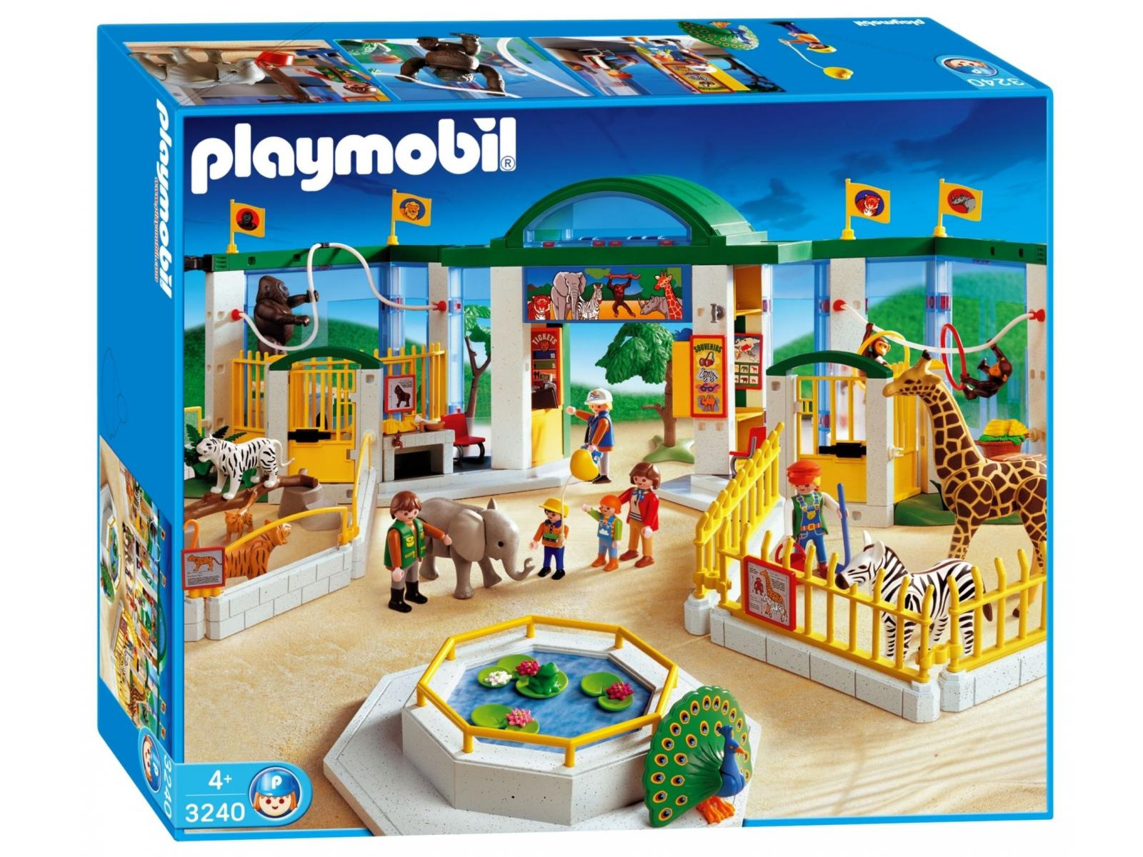 playmobil zoo. Black Bedroom Furniture Sets. Home Design Ideas