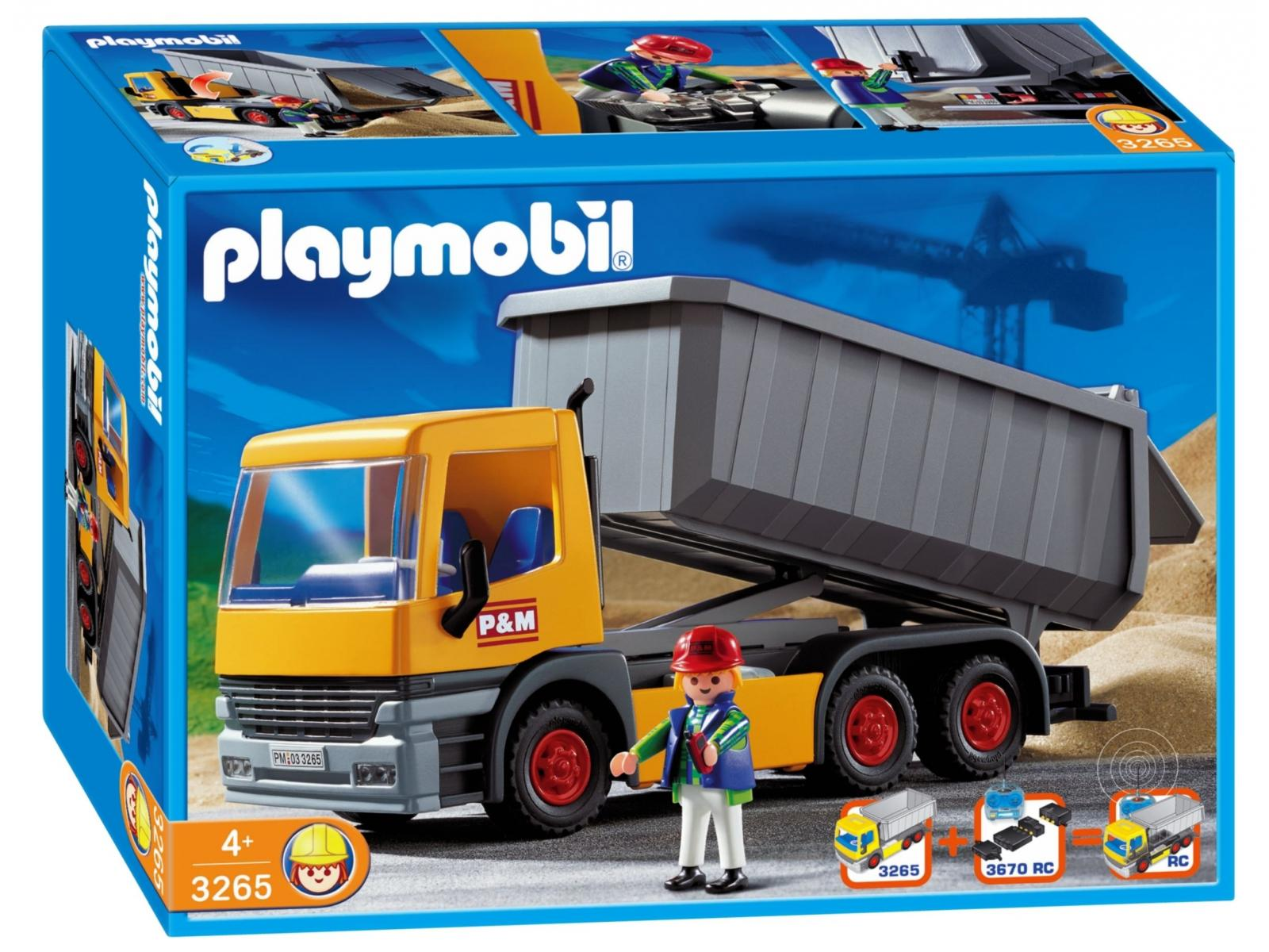Playmobil chauffeur camion benne - Playmobil camion ...