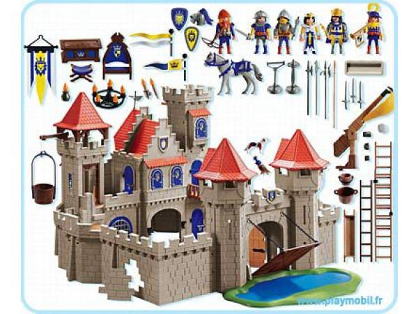 playmobil grand ch teau royal 3268. Black Bedroom Furniture Sets. Home Design Ideas