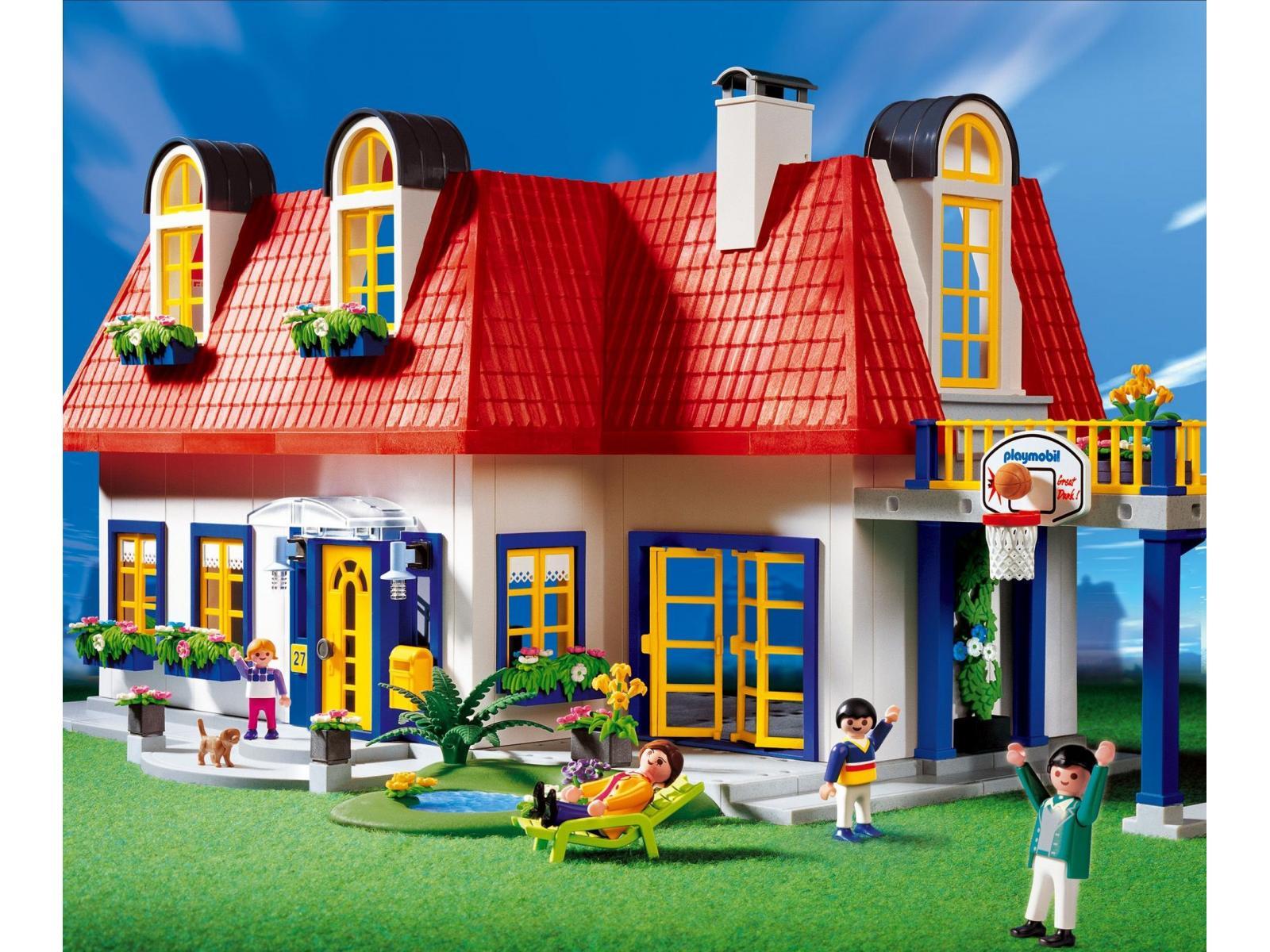 Stunning maison moderne playmobil klerelo photos amazing for Maison design