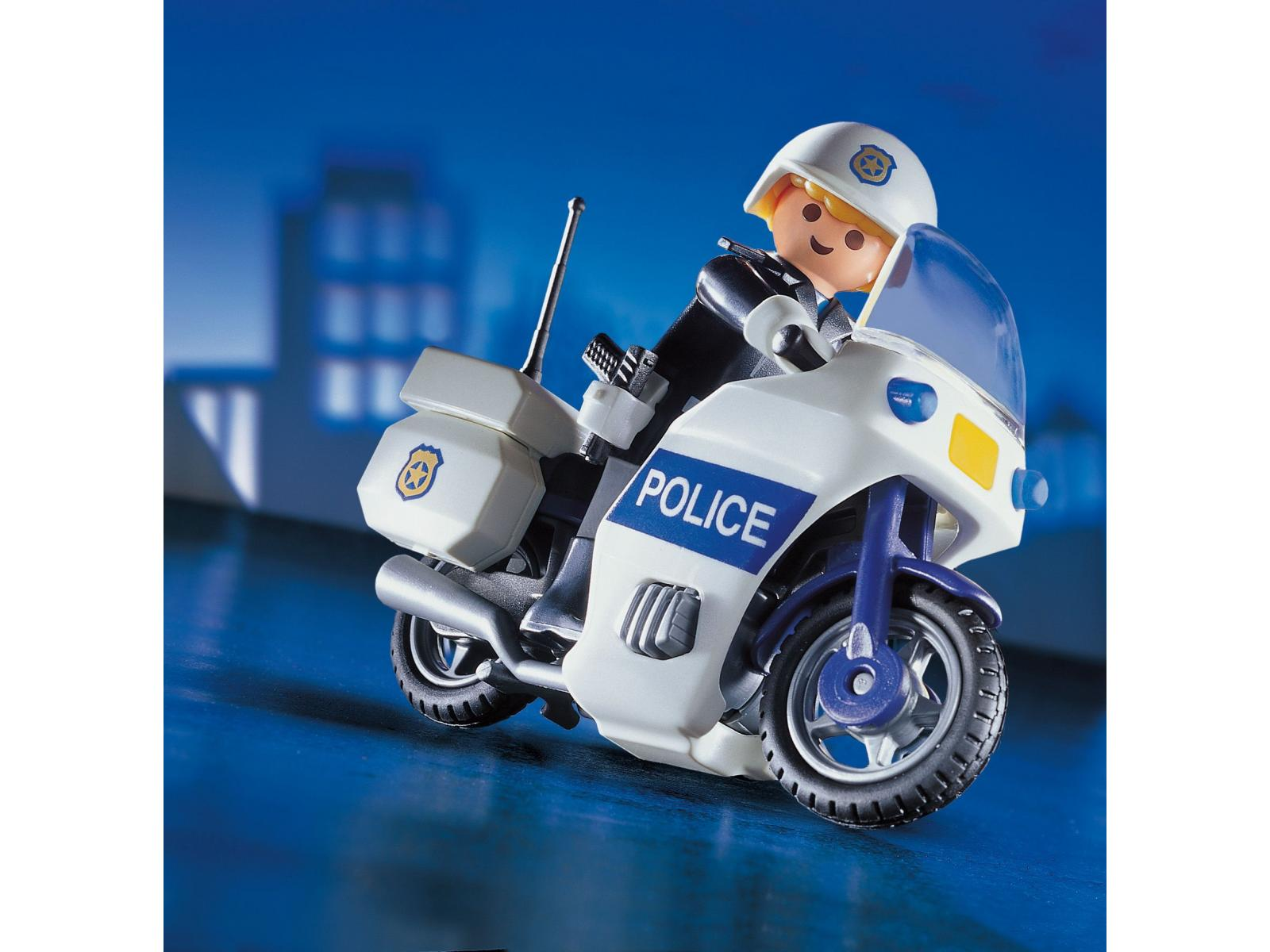 Playmobil motard de police - Playmobile policier ...